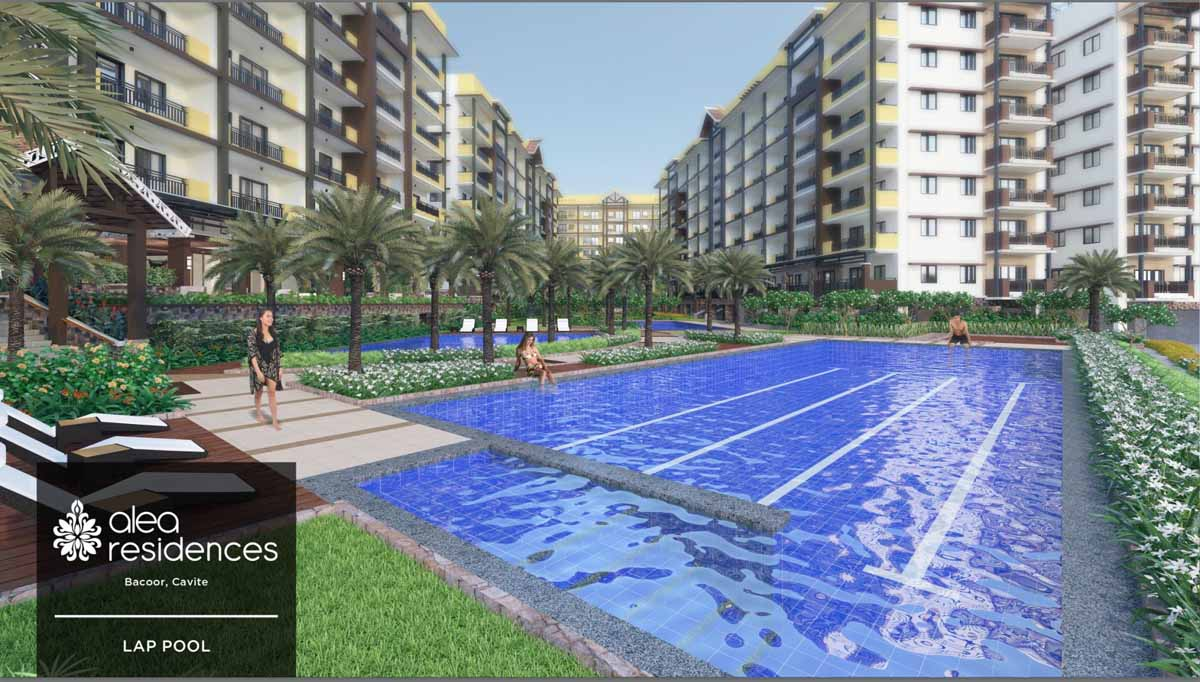 Alea Residences Lap Pool