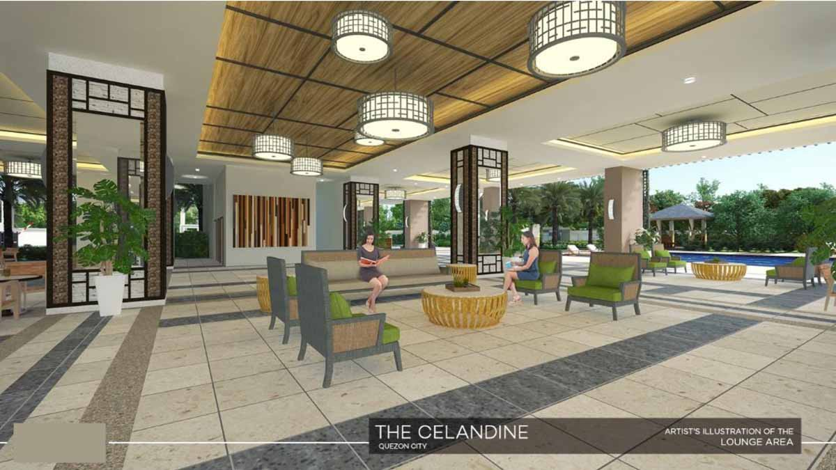 The Celandine Lounge Area