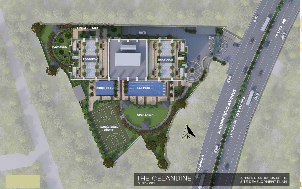 The Celandine Site Development Plan