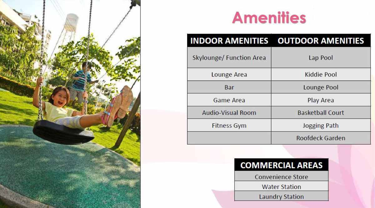 Calathea Place Amenities