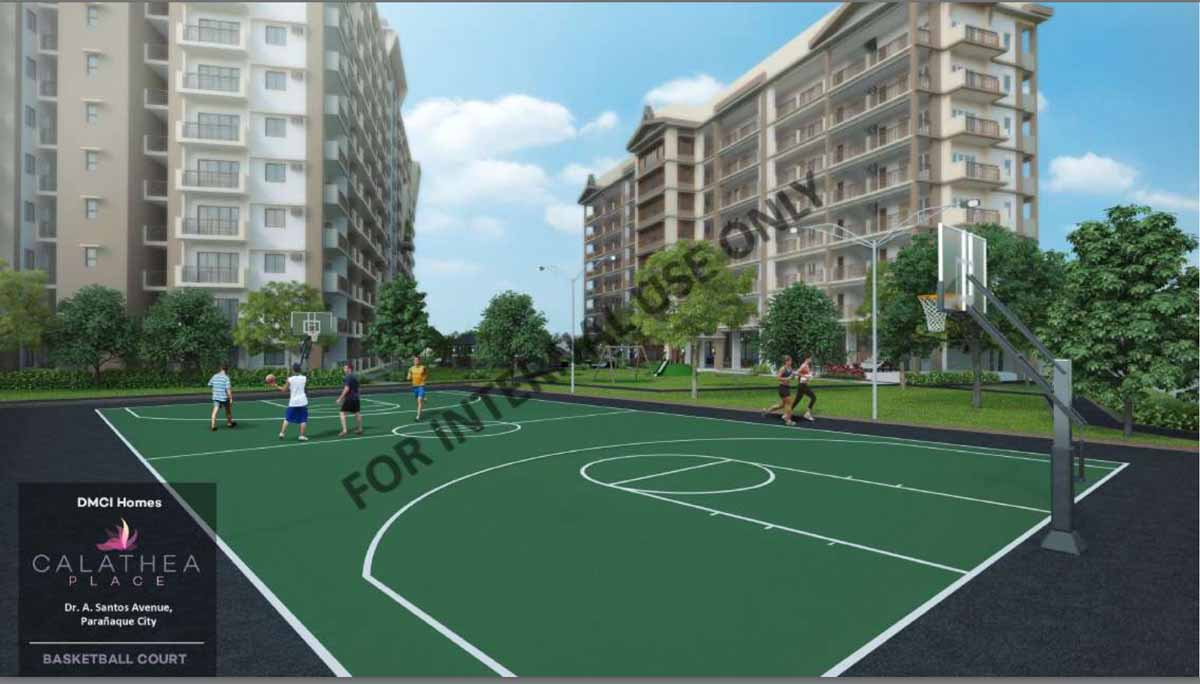 Calathea Place Basketball Court