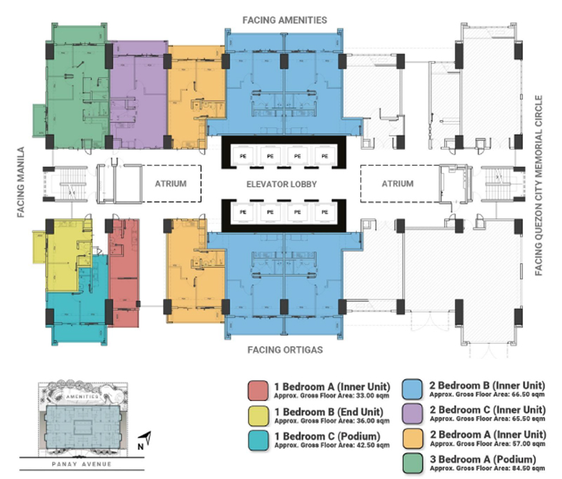 The Crestmont Floorplan 2F