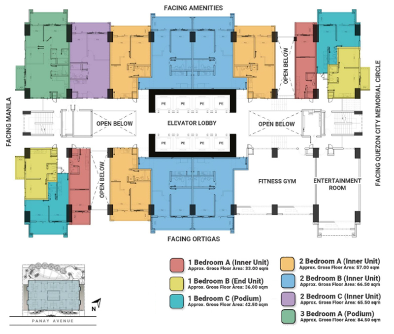 The Crestmont Floorplan 3F