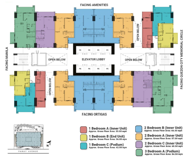 The Crestmont Floorplan 4F