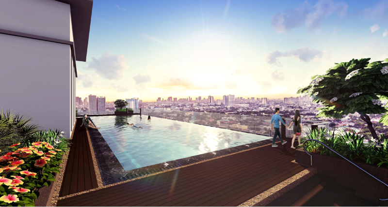 The Crestmont Sky Deck Pool