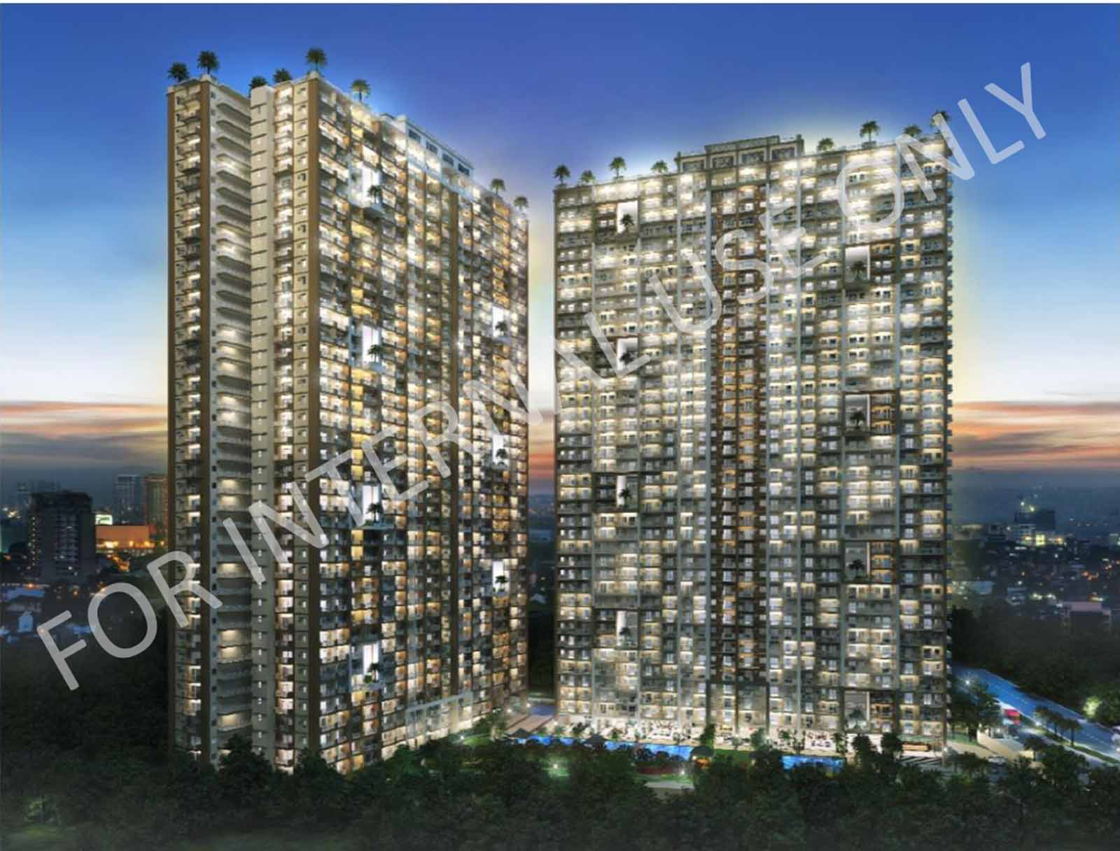 Infina Towers Building Facade