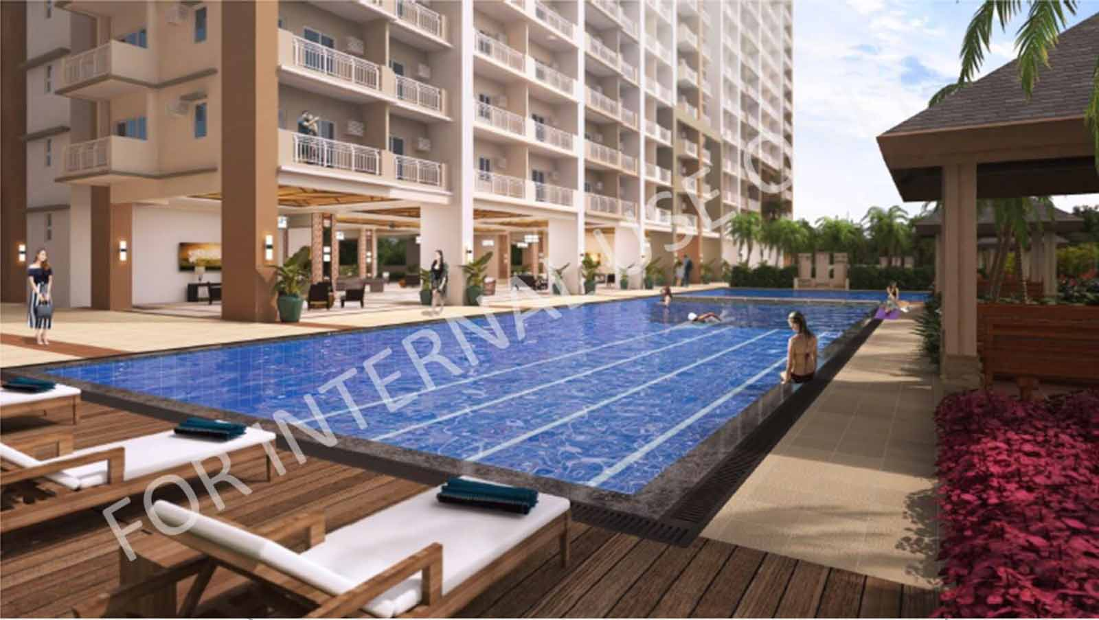Infina Towers Lap Pool