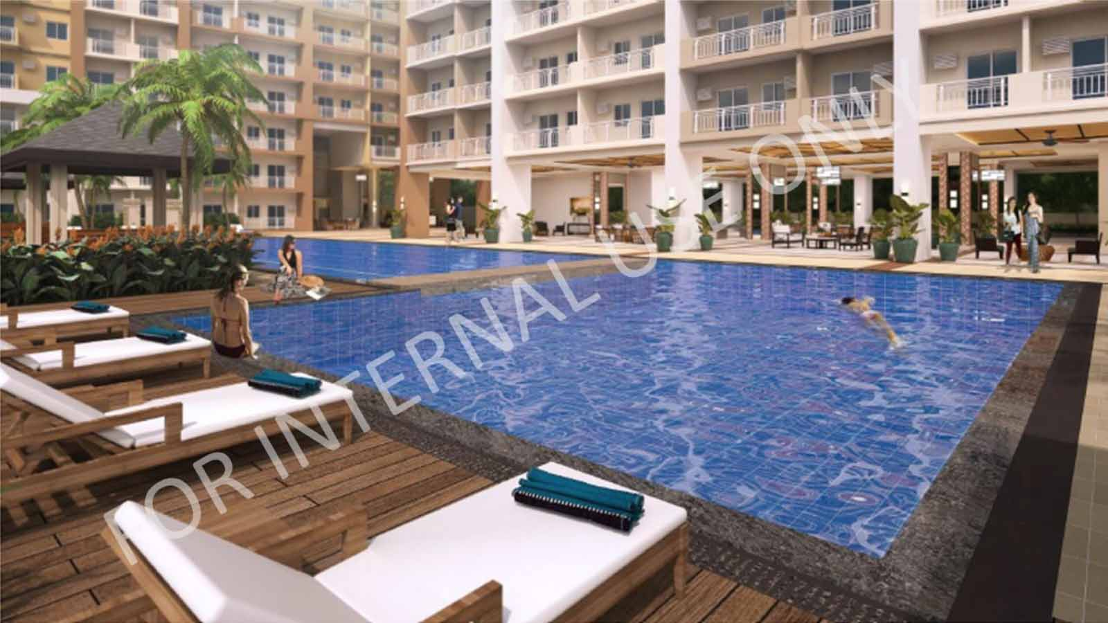 Infina Towers Lounge Pool