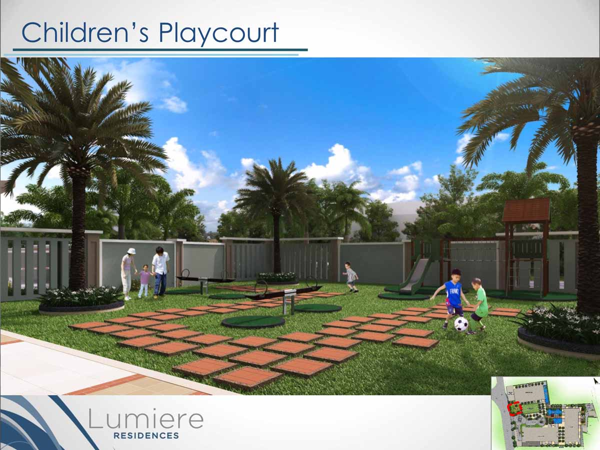 Lumiere Residences Childrens Play Court