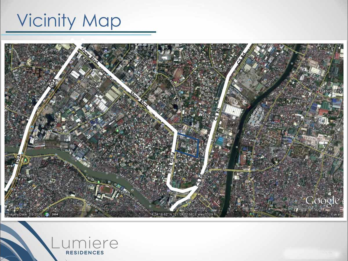 Lumiere Residences Location Map 2