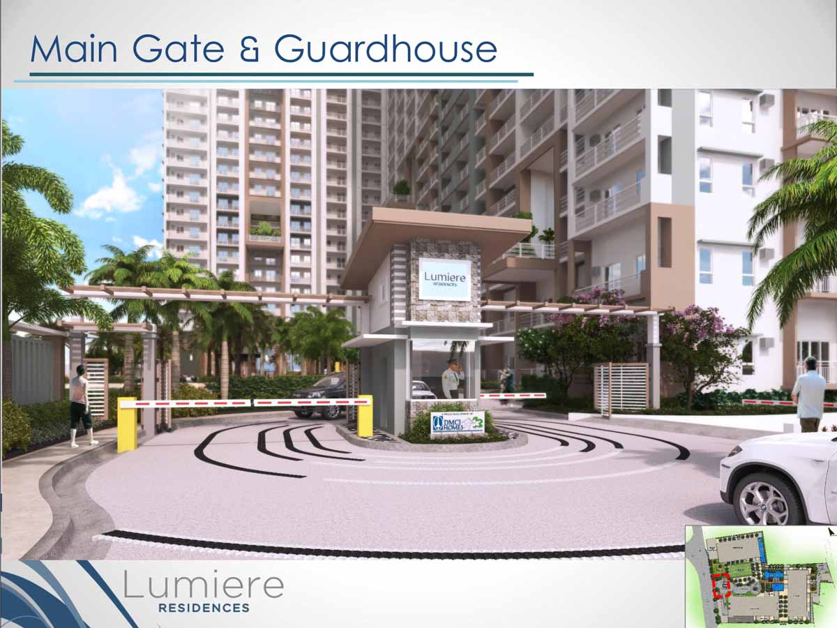 Lumiere Residences Main Gate