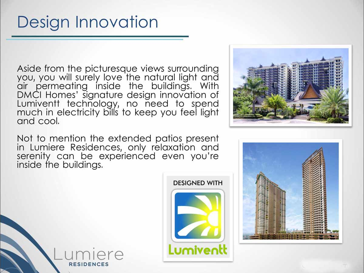 Lumiere Residences Selling Points 5