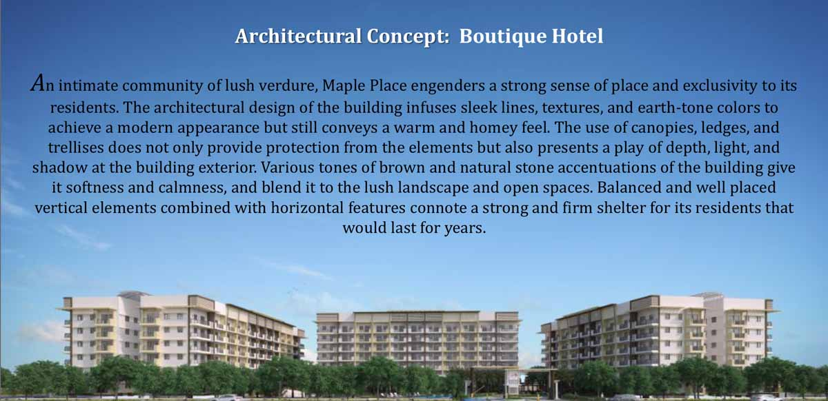 Maple Place Architectural Concept