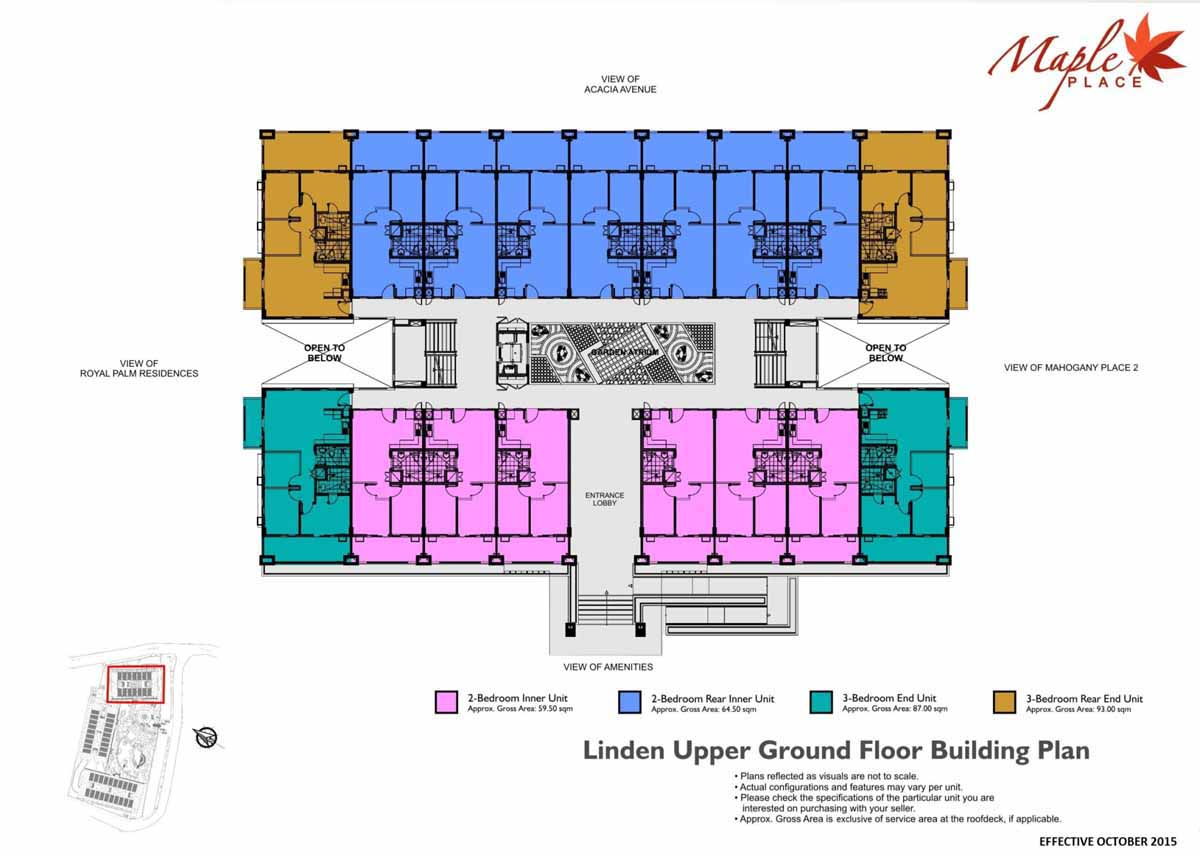 Maple Place Linden Bldg Plan UG