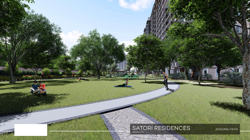Satori Residences Jogging Path
