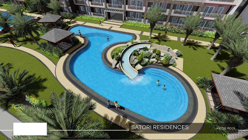 Satori Residences Kiddie Pool