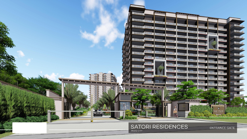 Satori Residences Main Entrance Gate